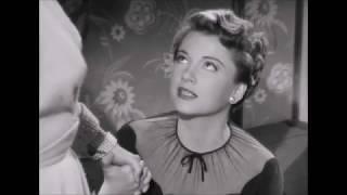 """Eve blackmails Karen - """"All About Eve"""" - Anne Baxter, Celeste Holm"""