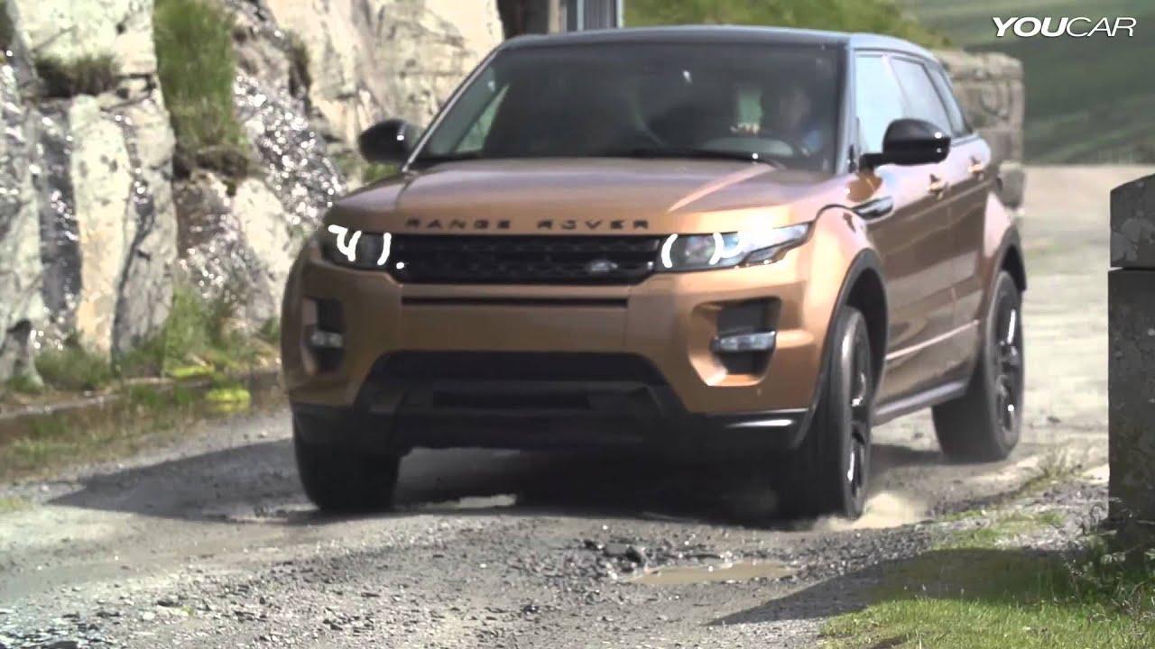 rover evoque range