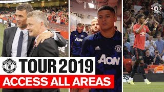 Access All Areas | United 2-2 AC Milan (United win 5-4 on pens) | Tour 2019