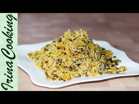 МАДЖАДРА - рис с чечевицей   Mujadrah - Lentils and Rice Recipe
