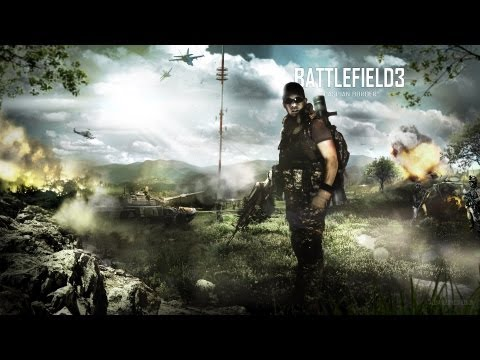 Speed Art - Battlefield 3 Caspian Border