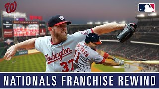 A rewind through the Washington Nationals franchise