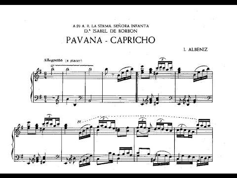 Исаак Альбенис - Pavane-capricho Op 12