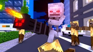 Monster School : ZOMBIE APOCALYPSE CHALLENGE - Minecraft Animation