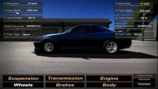 CarX Video - tyre parameters in CarX 2.0 (www.carx-tech.com)