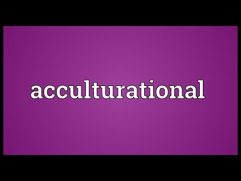 Header of Acculturational
