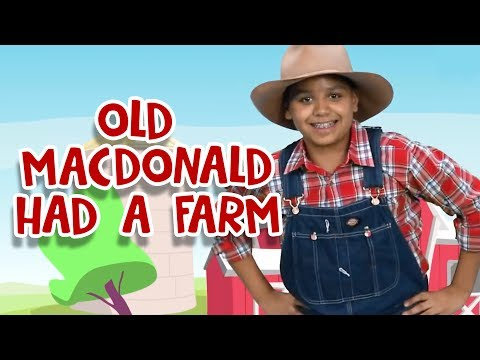Old MacDonald Had a Farm | Nursery Rhymes | Kids Songs