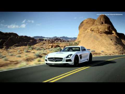 SLS AMG Coupé Black Series Trailer
