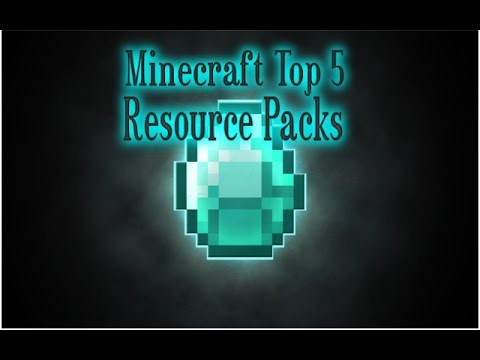 Minecraft - Top 5 Resource/Texture Packs - 1.7.5 LATEST UPDATE