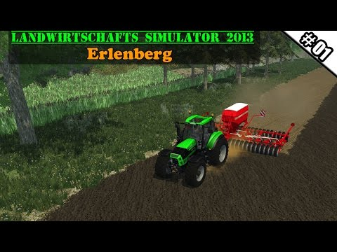 Landwirtschafts Simulator 2013 - Erlenberg #01 - Extrem geile Map!  ★ Let's Play LS 13