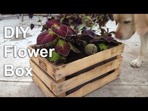DIY Flower Box Garden Planter - GardenFork