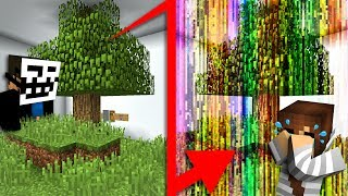 OUR MINECRAFT WORLD IS CORRUPT!! | Custom Map Challenge #1