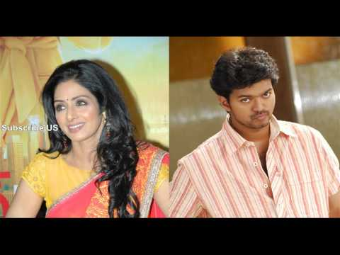 Actress Sri Devi Lip lock in Puli Movie?
