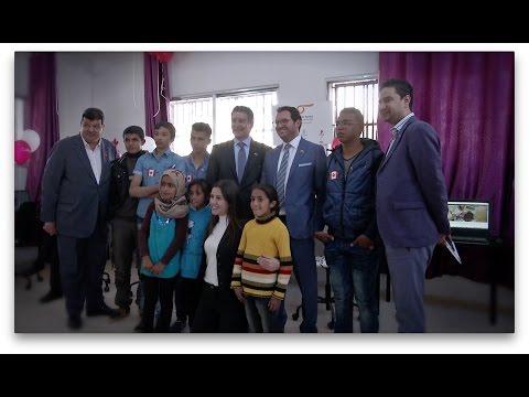 We:Tech – Bringing the World to Gaza Camp......We:Tech – Amener le monde au Camp Gaza
