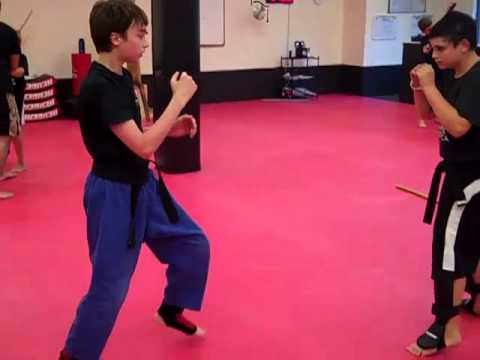 Juniors Black Belts Jun Fan gung-fu Trapping Image 1
