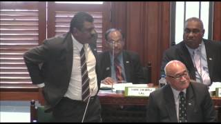 Response by Fijian Minister for Local Government, Hon. Parveen Kumar.