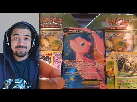Pokémon Trading Card Game Kalos Power Tin [Chesnaught EX] Opening w/ TheKingNappy!!