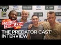 The Predator Cast on Seeing the Iconic Monster For the First Time and Working With Shane Black