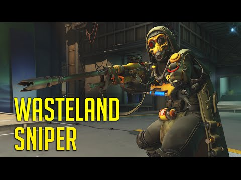 WASTELAND SNIPER! Nano Boost Power, Ana Live Commentary