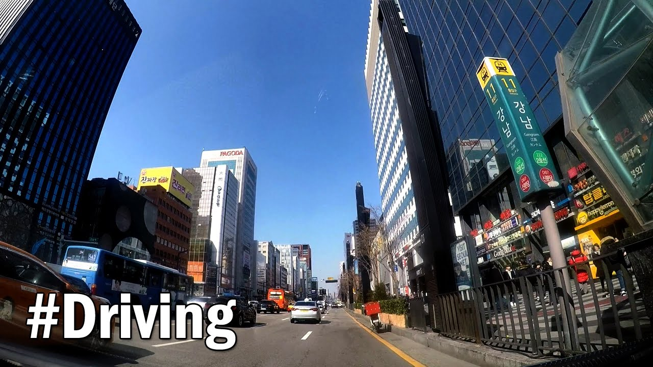 Gangnam Main Street Ea B0 95 Eb 82 A8 Ec 97 Ad  Eb A9 94 Ec 9d B8 Ea B1 B0 Eb A6 Ac Seoul South Korea