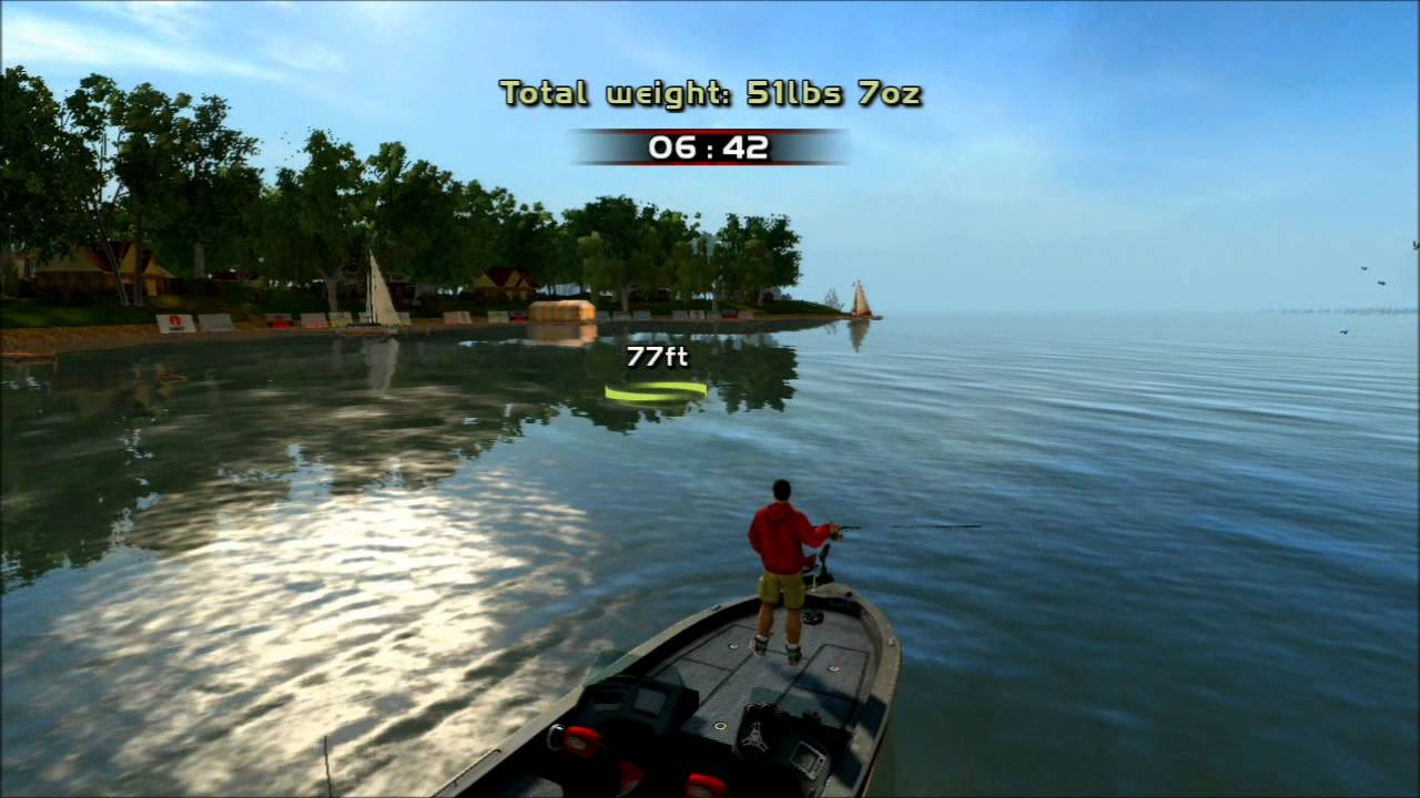 Ps4 bass fishing games for Bass pro shop fishing games