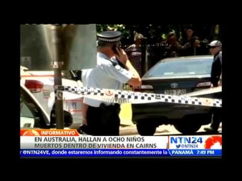 Autoridades hallan en una vivienda de Australia los cuerpos sin vida de ocho niños