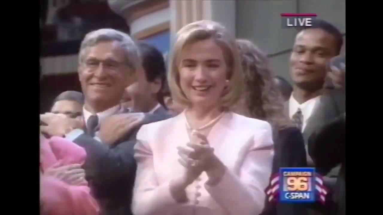 The 1996 DNC Was Lit!