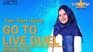 Bening Ayu `Iam Yours` Cover  Live Audition 1  Rising Star Indonesia 2016