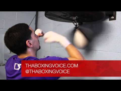 GARCIA VS HERRERA GARCIA SPEED BAG TRAINING Image 1
