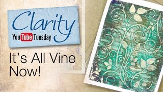 Gelli Plate How To - It's All Vine Now