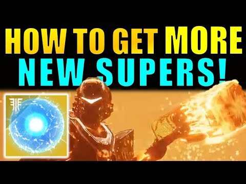 Destiny 2: How to Unlock MORE NEW SUPERS! - Seed Of Light Guide! | Forsaken