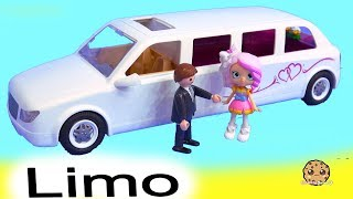 Wedding Limo ! Getting Married Shopkins Shoppies Bride Video 2