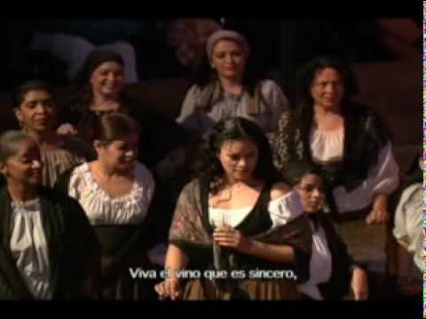 Brindisi - Cavalleria Rusticana - Tenor David Hidalgo