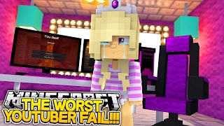 WORST YOUTUBER FAIL EVER!!!- Baby Leah Minecraft Roleplay!