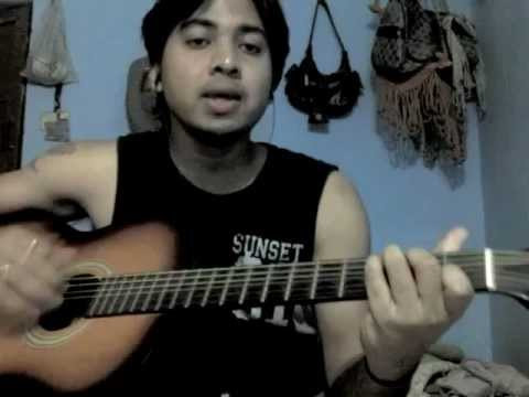 Tanha dil Tanha safar (Shaan) acoustic cover BY Digvijay.wmv