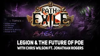 [Path of Exile] Reacting to Baeclast #41: Chris Wilson & Jonathan Rogers on Legion | 3.7 Legion