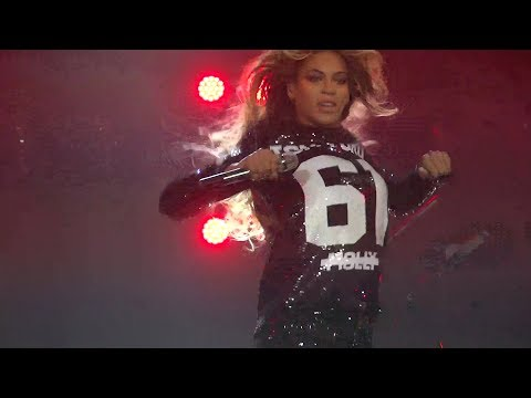 Beyonce - Run The World (Live at the Antwerp Mrs. Carter Show World Tour, 20.03- FRONT ROW) HD