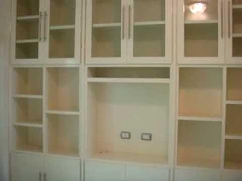 Librero mpg youtube - Libreros de madera modernos ...