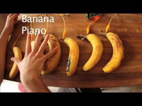 Tastiera con le banane