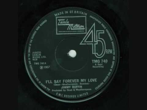 Jimmy Ruffin - Ill Say Forever My Love