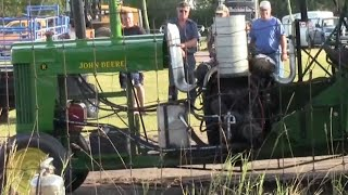 John Deere With Allison V12 Aircraft Engine On Alcohol
