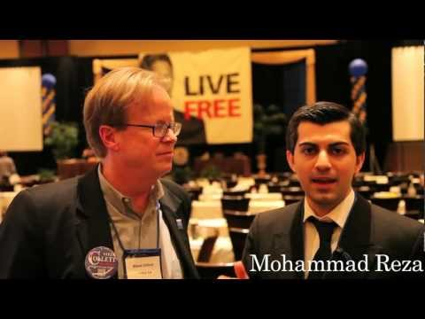 Mohammad Reza Endorses Steve Collett for Congress