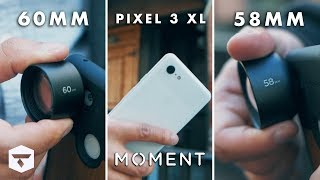 Moment 58mm vs 60mm Lens Comparison | Google Pixel 3 XL Photography