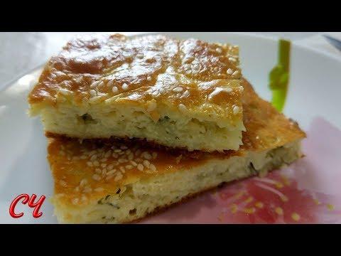 Быстрый Ужин- это Запеканка-Пирог   из Капусты.