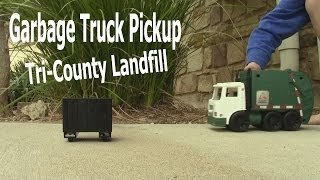 Garbage Truck Video - Tri County Landfill Pickup
