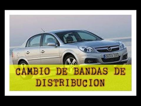 Cambio de banda de distribucion Vectra 2005 3.2 litros