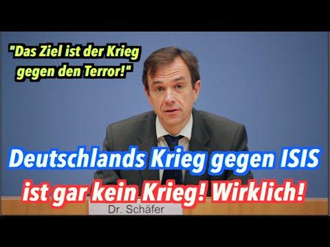 """Deutschlands """"Krieg gegen den Terror"""" ist gar kein Krieg! Wirklich!"""