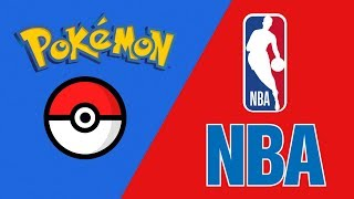 All 30 NBA Team Logos Rebranded as Pokemon