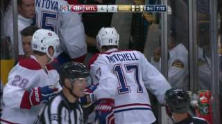 Gotta See It: Mitchell takes brutal stick to face, still scores