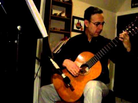 Gymnopedie No.1 by Erik Satie played by Martin de Zuviria on the guitar